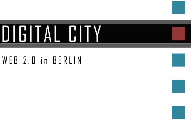 DIGITAL CITYWEB 2.0 in BERLIN