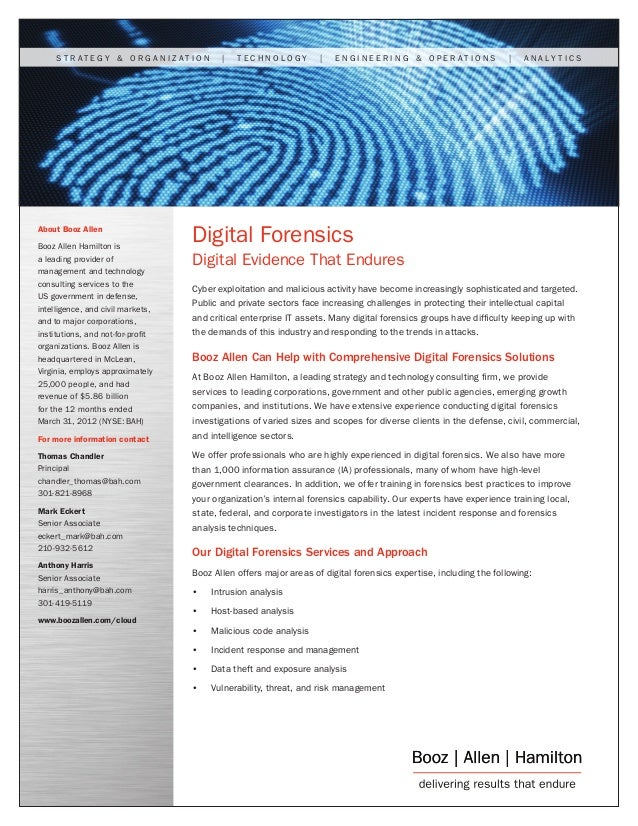 Digital Forensics: Digital Evidence That Endures