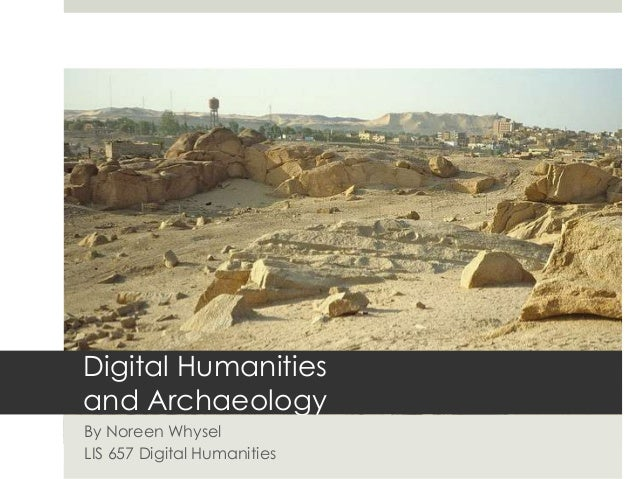Digital humanities-and-archaeology