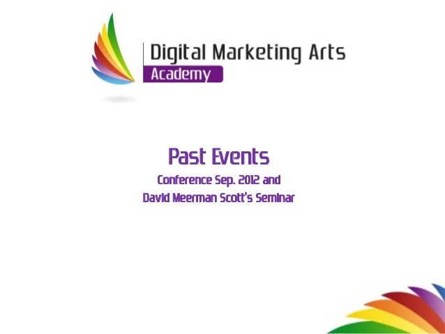 Past Events of Digital Marketing Arts