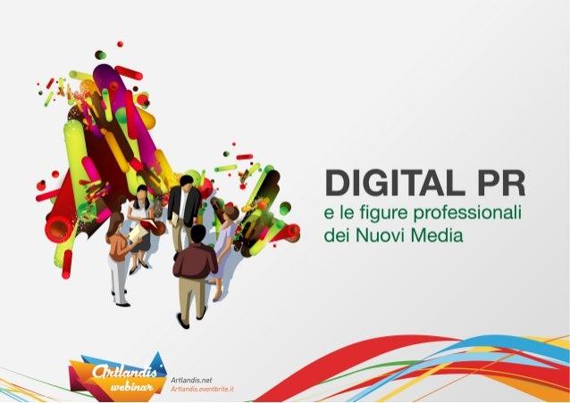 Digital PR e nuove professioni