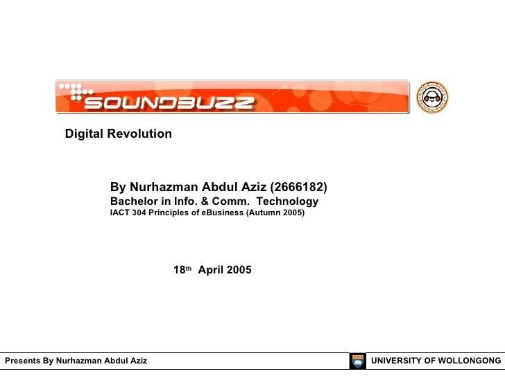 Digital Revolution (SoundBuzz - Singapore Case Studies)