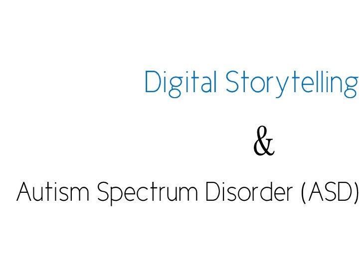 Digital Storytelling For Students With Autism
