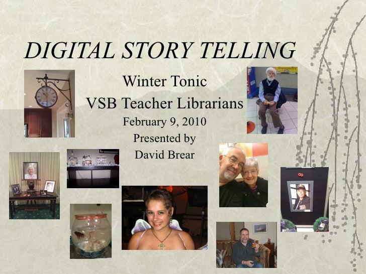 Digital Storytelling Vsb