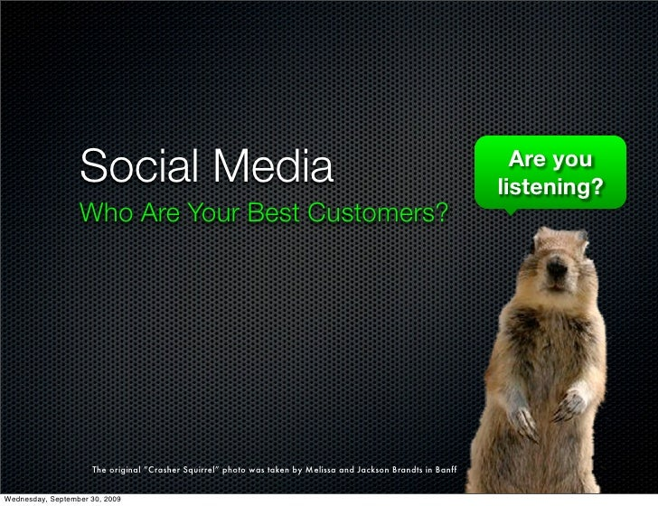 Social Media                                                                                   Are you                    ...