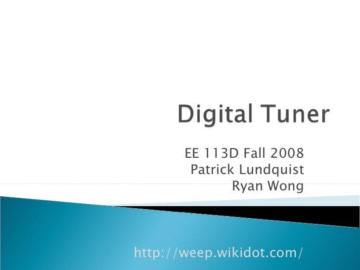 Digital Tuner