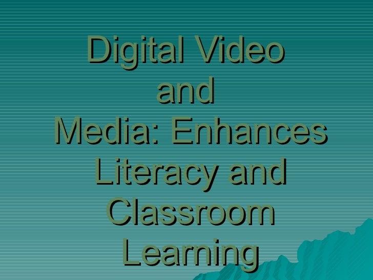 Digital Video & Media