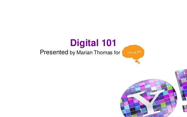 Digital 101 think_lafinal