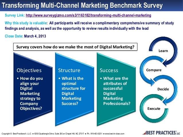 Transforming Multi-Channel Marketing Benchmark Survey   Survey Link: http://www.surveygizmo.com/s3/1163182/transforming-mu...
