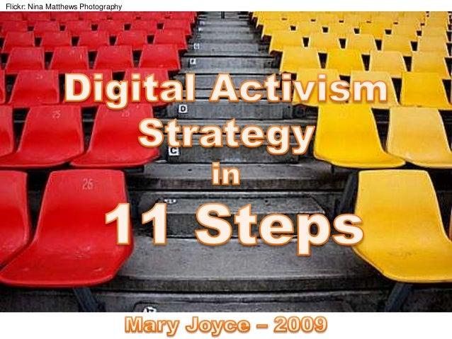 Digital Activism Strategy in 11 Steps