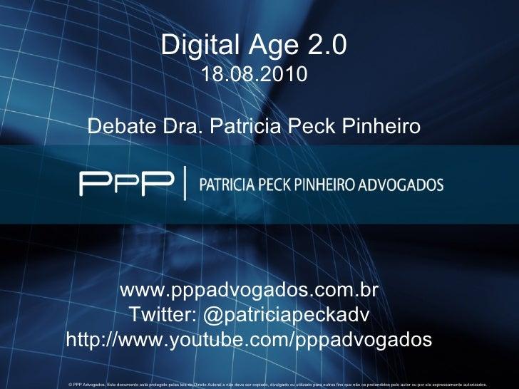 Debate Patrícia Peck Pinheiro - Você é um pirata