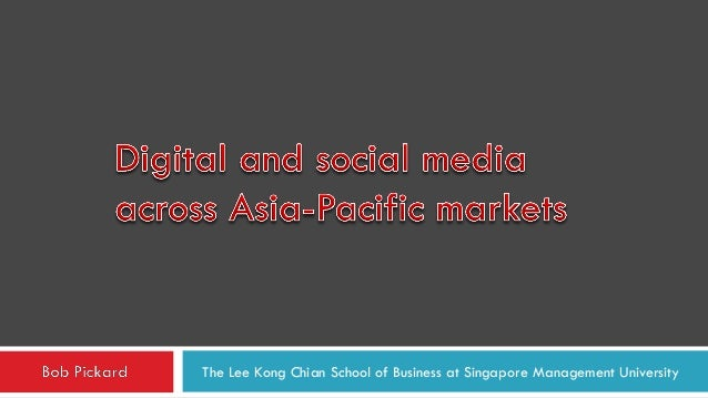 Digital and social media across Asia-Pacific markets