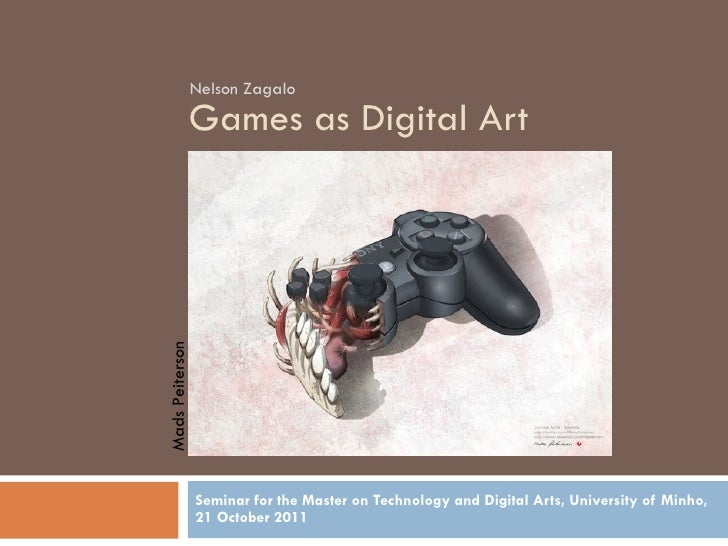 Digital Art and Games