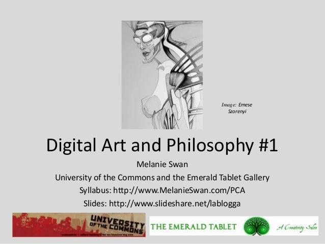 Digital Art and Philosophy #1