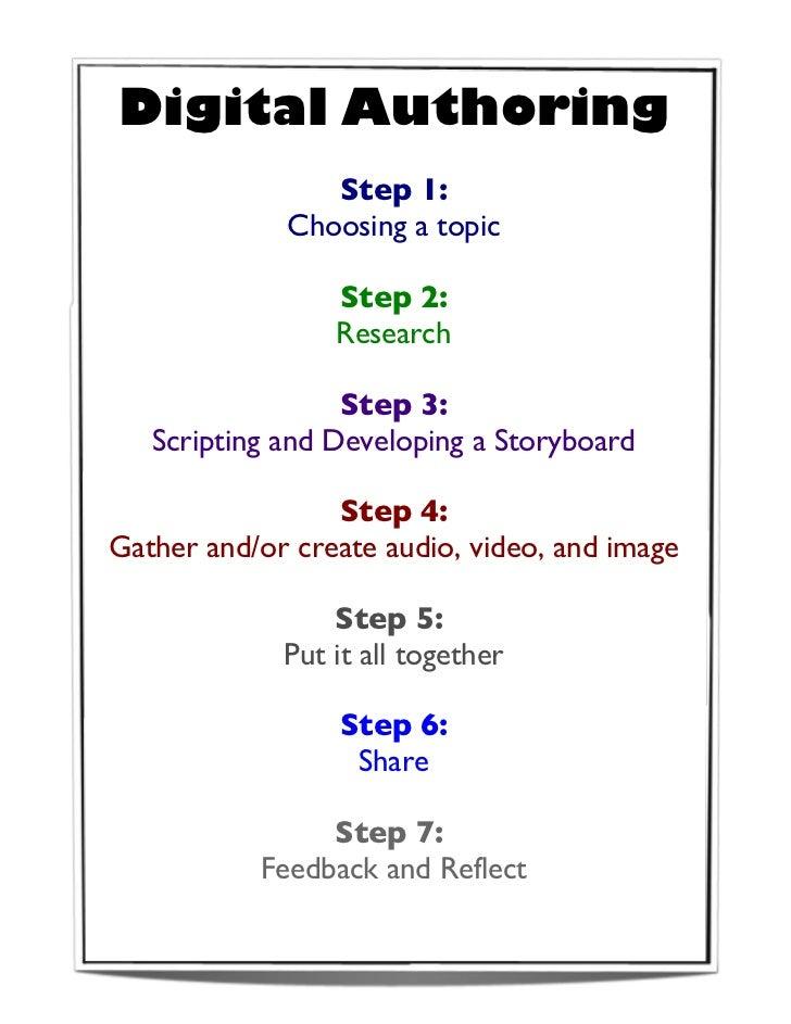 Digital authoring
