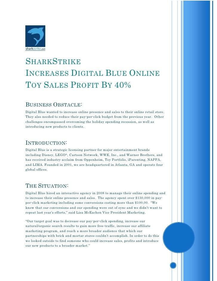 SharkStrike E-commerce Case Study