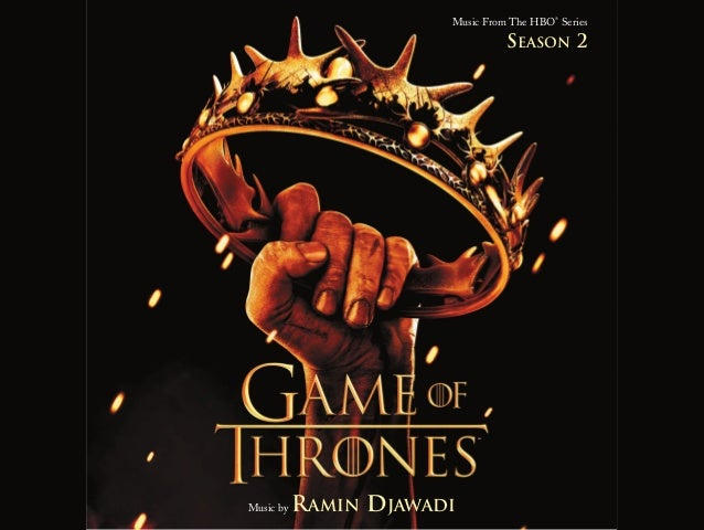 Music From The HBO®SeriesMusic by RAMIN DJAWADISEASON 2SM