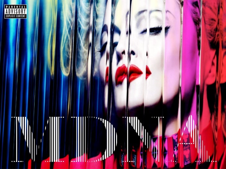 Folleto Digital de Madonna    mdna