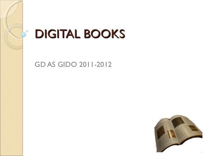 DIGITAL BOOKS GD AS GIDO 2011-2012