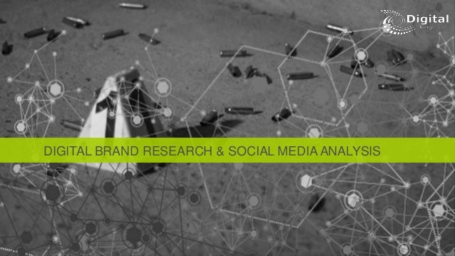 DIGITAL BRAND RESEARCH & SOCIAL MEDIA ANALYSIS