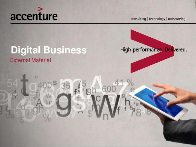 Digital Business External Material