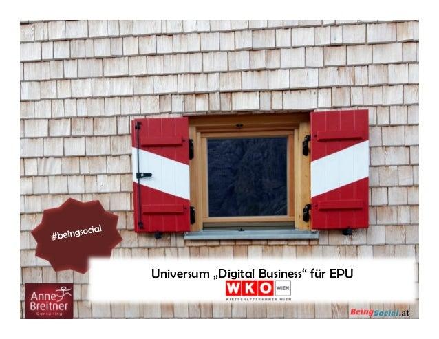 "Universum ""Digital Business"" für EPU"