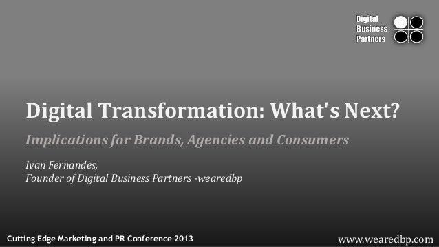 wearedbp.com (Extented): Digital Transformation - What's Next?