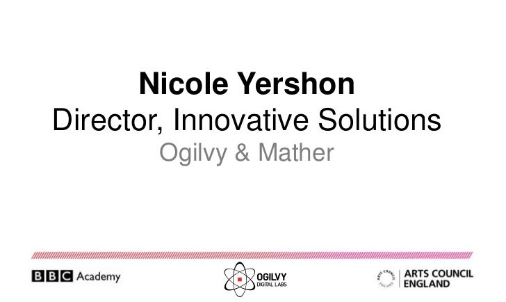 Ogilvy & Mather innovation lab