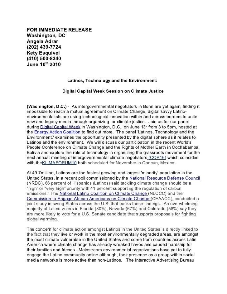 Digital Capital Week 2010: Climate Justice Panel