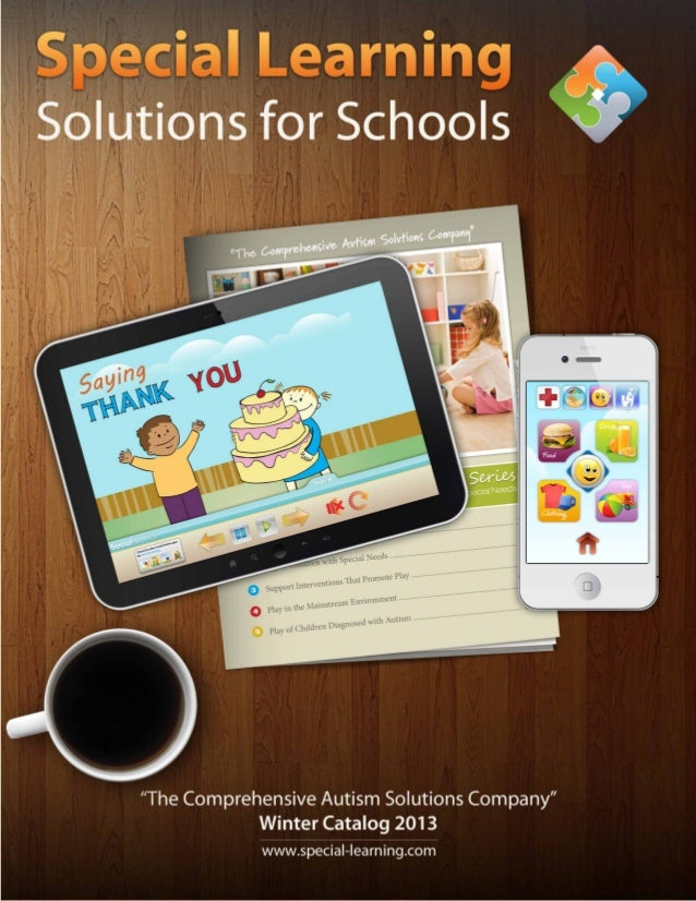 www.special-learning.com1Winter Catalog 2013