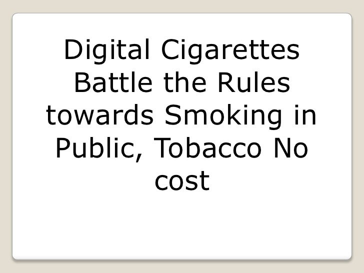 Digital Cigarettes Battle the Rules towards Smoking in Public, Tobacco No cost<br />