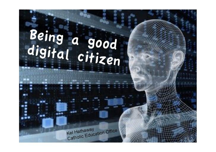 Being a Good Digital Citizen