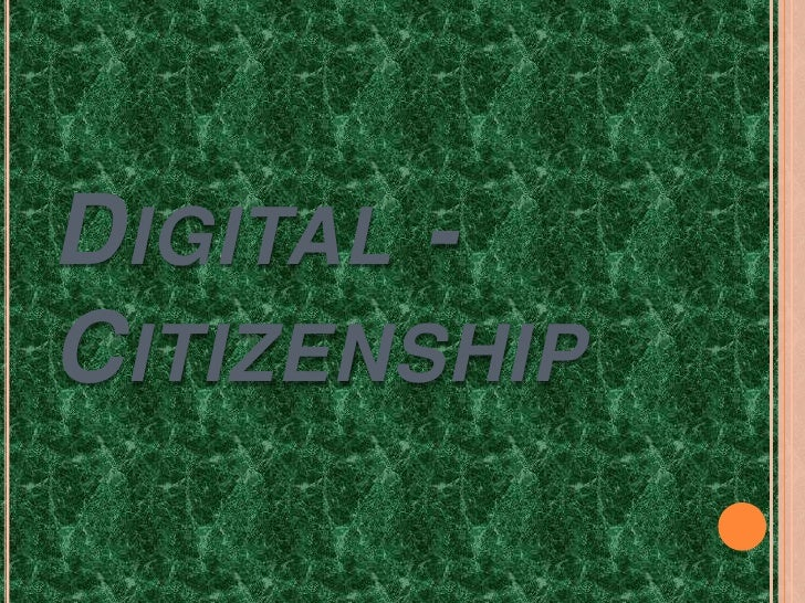 Digital - Citizenship<br />