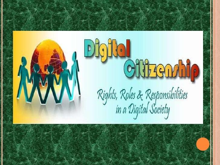 Digital Citizenship...