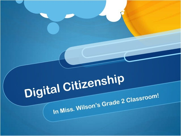 What is Digital Citizenship? Digital citizenship is all about how we use technology. With our world becoming more dependen...