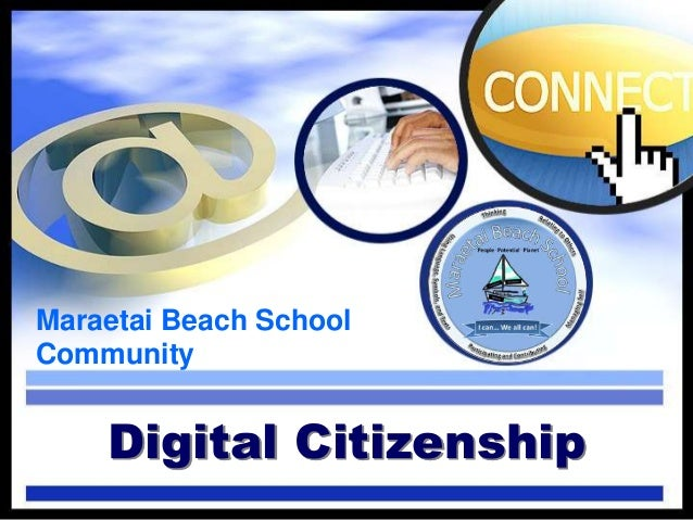 Maraetai Beach School Community Digital Citizenship