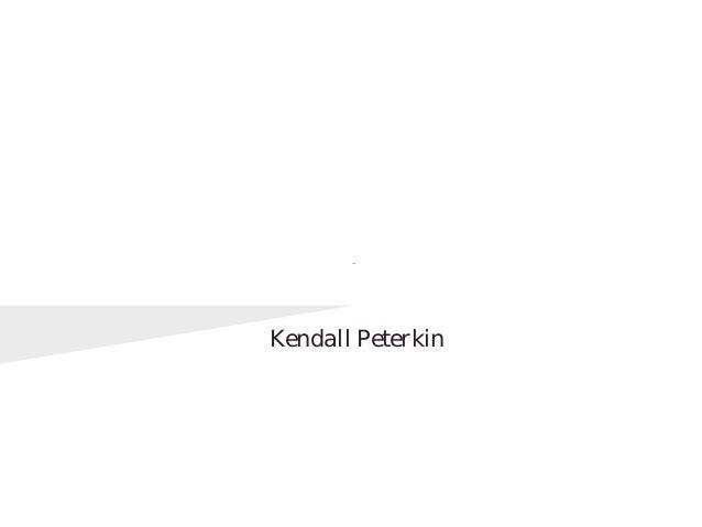 Digital Citizenship         Kendall Peterkin
