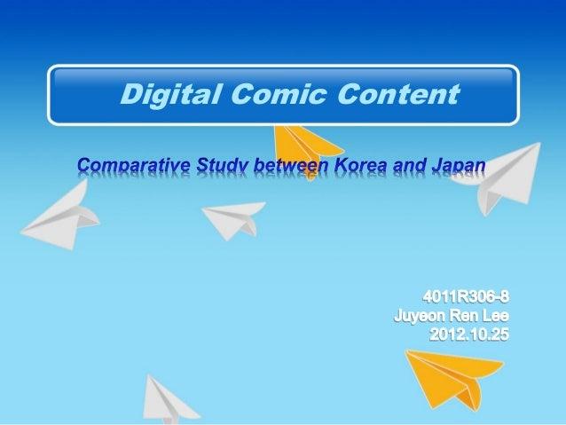 Digital Comic Content