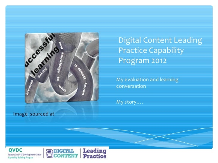 Digital content leading practice evaluation interview