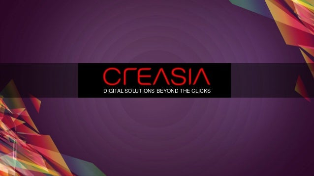 DIGITAL SOLUTIONS BEYOND THE CLICKS
