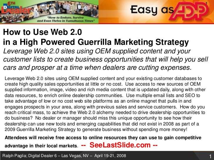Digital dealer6 web20-guerrillamarketing-v2