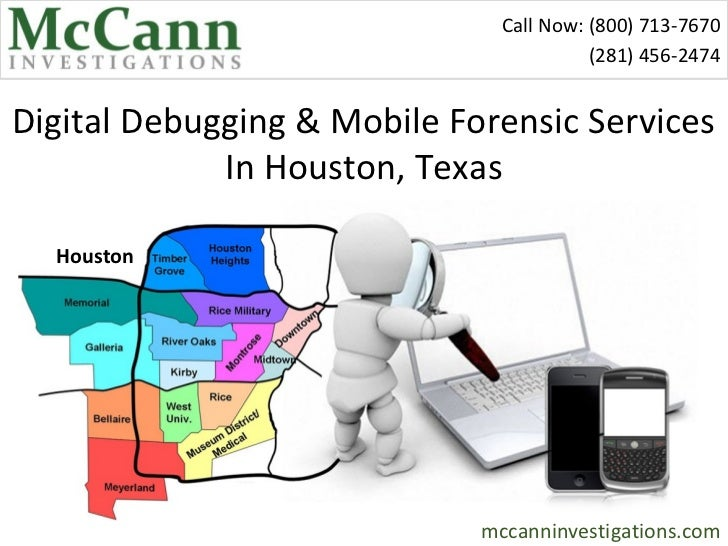 Digital Debugging & Mobile Forensic Services In Houston, Dallas, Austin, San Antonio, Texas and New York