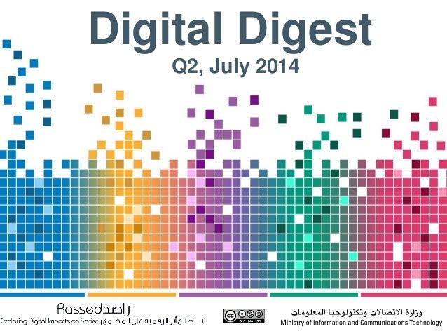 Digital Digest, Q2 2014