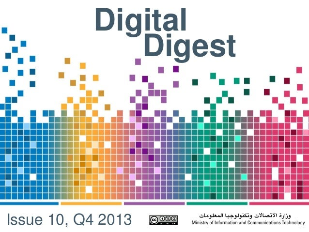Digital Digest Issue 10, Q4 2013
