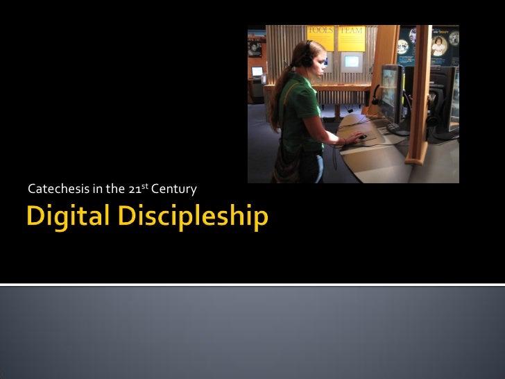 Digital Discipleship