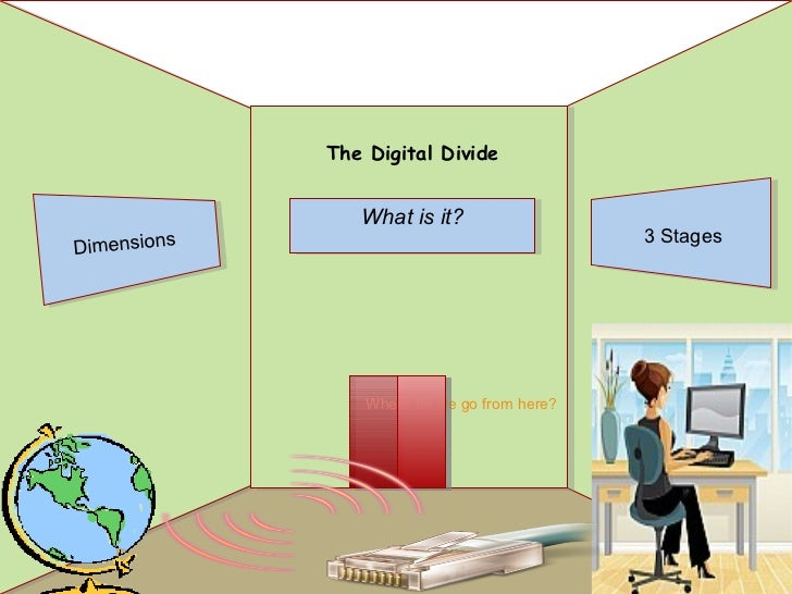 The Digital Divide                What is it?                                            3 StagesDimensions               ...
