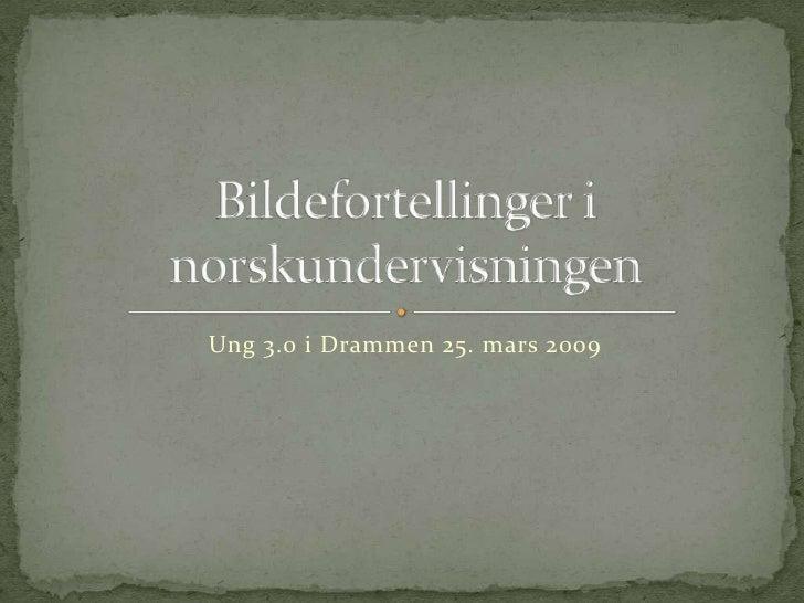 Digitale Bildefortellinger I Norskundervisningen