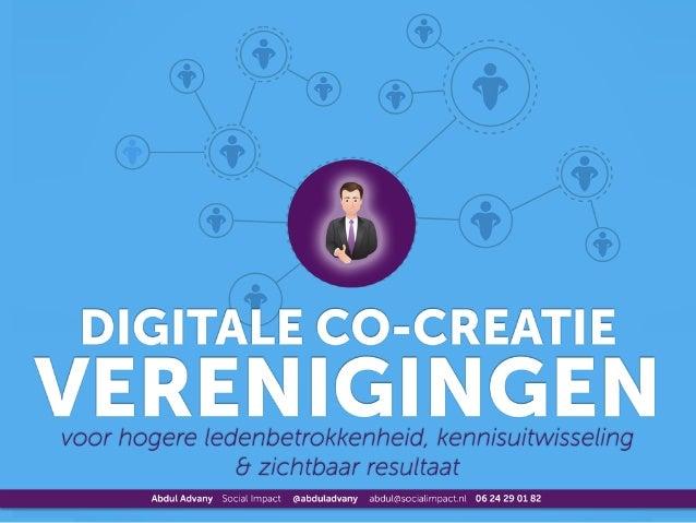 Digitale Co-creatie Verenigingen
