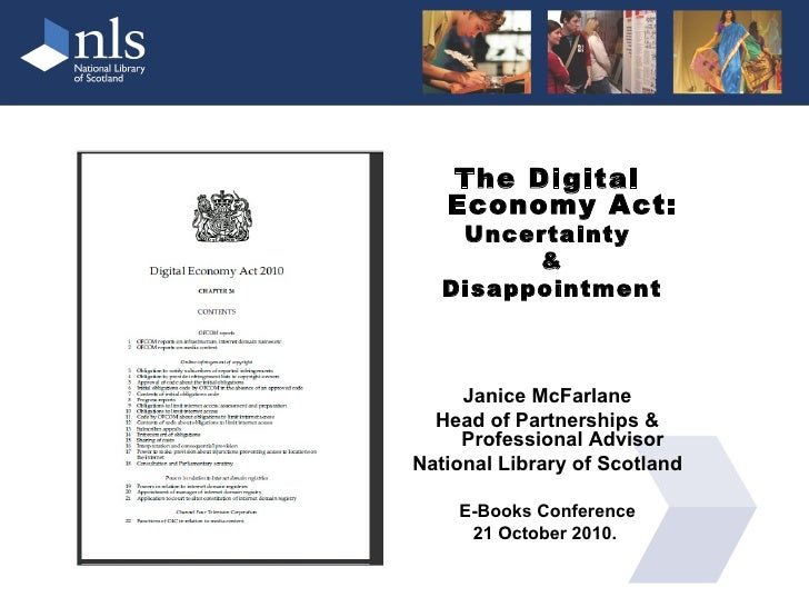 Digital Economy Act UK