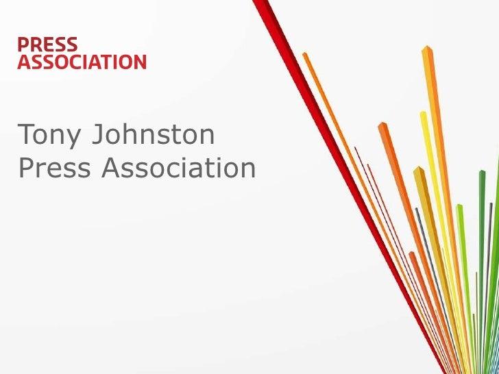 Tony Johnston Press Association